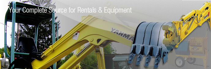 Your Complete Source for Rentals & Equipment